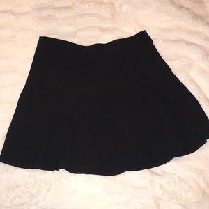 Black skirt - polyester
